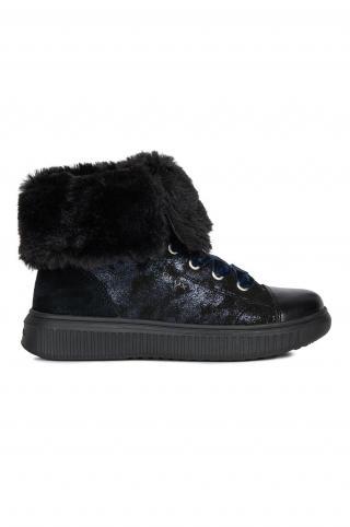 Geox - Detské topánky čierna 29