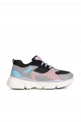 Geox - Detské topánky sivá 28