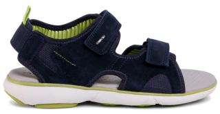 GEOX Pánske sandále U Nebu la L Navy U926WB-00022-C4064 43 pánské