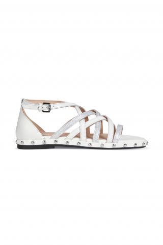 Geox - Sandále dámské biela 36