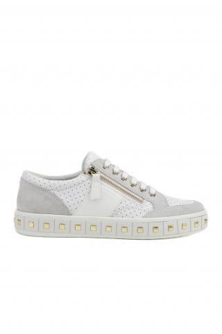 Geox - Topánky dámské biela 37