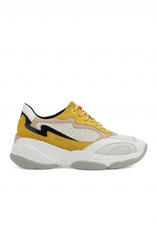 Geox - Topánky dámské žltá 36