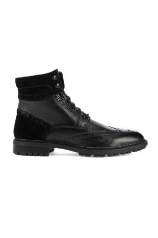 Geox - Topánky pánské čierna 45