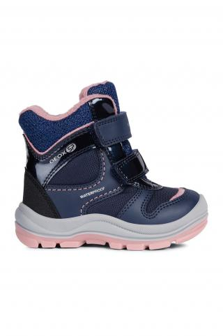 Geox - Zimné topánky tmavomodrá 20