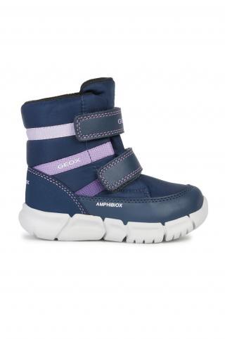 Geox - Zimné topánky tmavomodrá 21