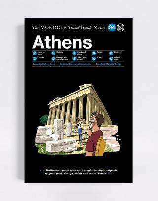 Gestalten Athens: The Monocle Travel Guide Series Čierna