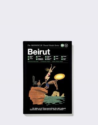 Gestalten Beirut: The Monocle Travel Guide Series Čierna