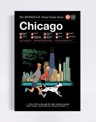 Gestalten Chicago: The Monocle Travel Guide Series Čierna