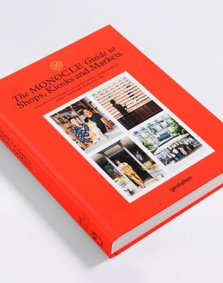 Gestalten Monocle Guide to Shops, Kiosks and Markets Oranžová