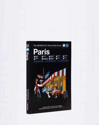 Gestalten Paris: The Monocle Travel Guide Series Čierna