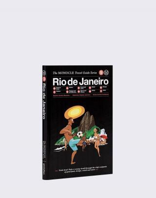 Gestalten Rio de Janeiro: The Monocle Travel Guide Series Čierna