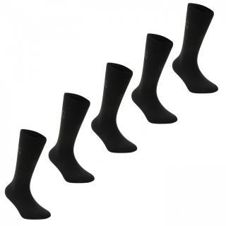 Giorgio 5 Pack Classic Socks Mens pánské čierná | Black | Other Mens 7-11