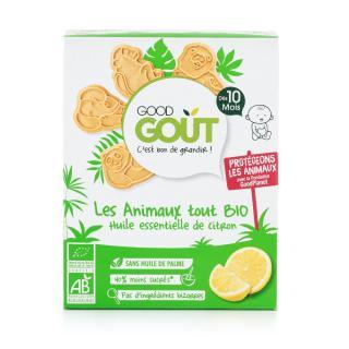 GOOD GOUT BIO Zvieratká citrónové 80 g