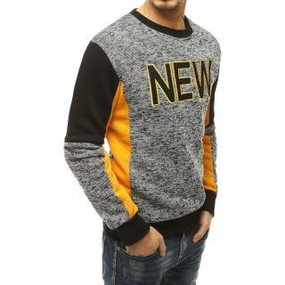 Gray mens sweatshirt BX4922 pánské Neurčeno XXL