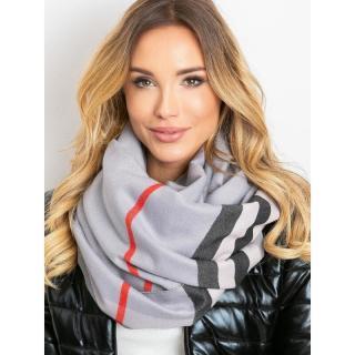 Gray scarf with fringes dámské Neurčeno One size