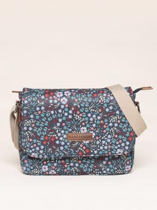 Grey floral crossbody handbag Brakeburn šedá One size