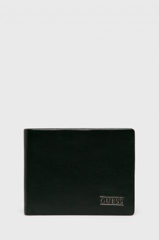Guess Jeans - Kožená peňaženka dámské čierna ONE SIZE