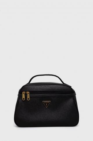 Guess - Kozmetická taška dámské čierna ONE SIZE