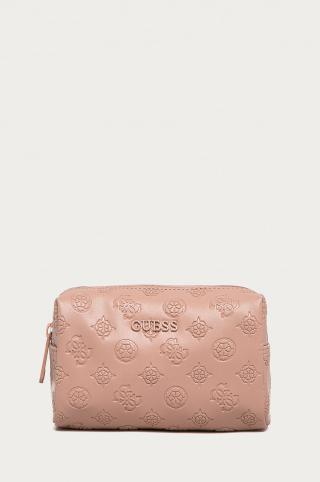 Guess - Kozmetická taška dámské ružová ONE SIZE