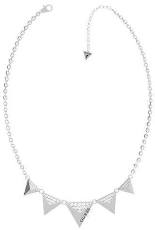 Guess Moderný dámsky náhrdelník s príveskami UBN70059