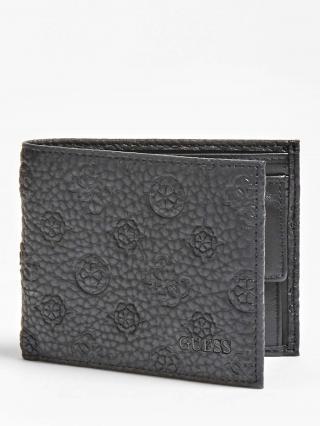 GUESS Peňaženka  čierna pánské XS-XXL