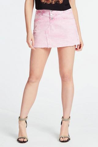 Guess ružová denimová sukňa - 27 dámské 27