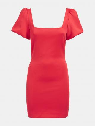 GUESS Šaty  ohnivo červená dámské 34