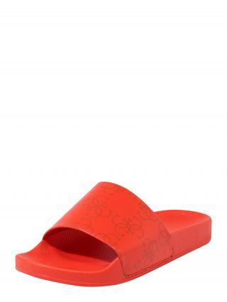 GUESS Šľapky SLIDES  červená dámské 38
