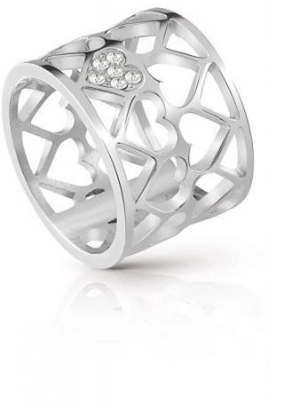 Guess Srdiečkový prsteň UBR85006 50 mm dámské