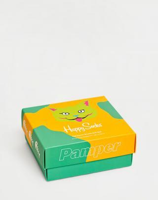 Happy Socks 2-Pack Cat Lover Gift Set XCAT02-6301 36-40 neuvedená 36-40
