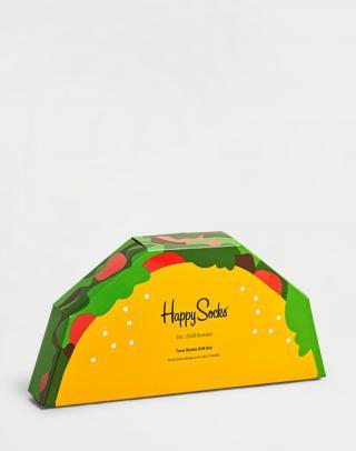 Happy Socks 2-Pack Tacos Gift Set XTAC02-6500 36-40 neuvedená 36-40