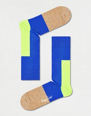 Happy Socks Blocked Sock BLO01-6300 41-46 Modrá 41-46