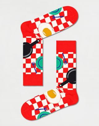 Happy Socks Early Bird Sock EBI01-4300 36-40 Červená 36-40
