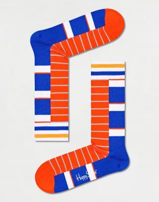 Happy Socks Half Half Thin Crew Sock ATHAH29-6500 41-46 Oranžová 41-46