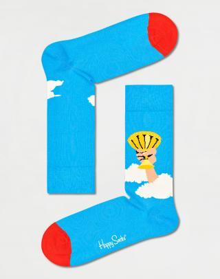 Happy Socks Holy Grail Sock MPY01-6000 41-46 Modrá 41-46