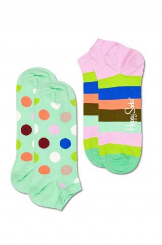 Happy Socks - Ponožky Big Dot Stripe  dámské viacfarebná 36/40