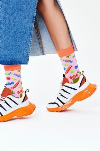 Happy Socks - Ponožky Candy dámské ružová 36/40