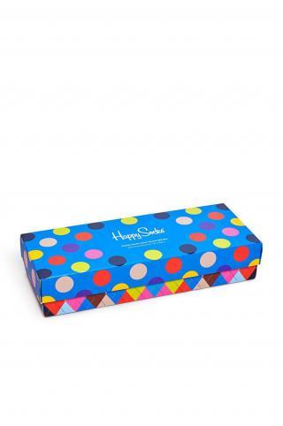 Happy Socks - Ponožky Classic Multi-Color  pánské viacfarebná 41/46