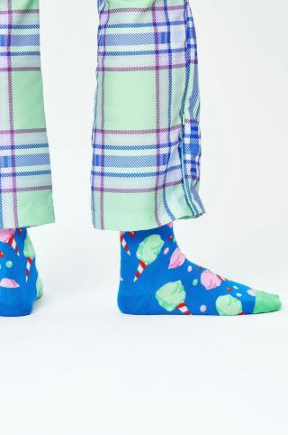 Happy Socks - Ponožky Cotton Candy dámské modrá 36/40