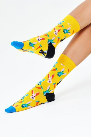 Happy Socks - Ponožky Easter Bunny dámské žltá 36/40