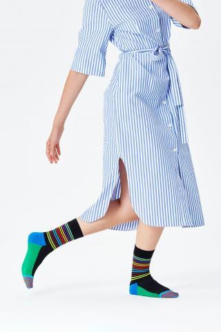 Happy Socks - Ponožky Half Stripe dámské viacfarebná 36/40