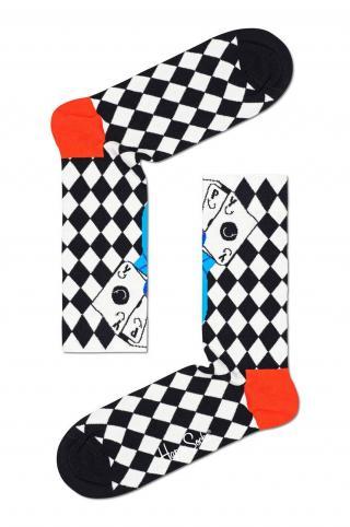 Happy Socks - Ponožky Lucky Winner dámské čierna 36/40