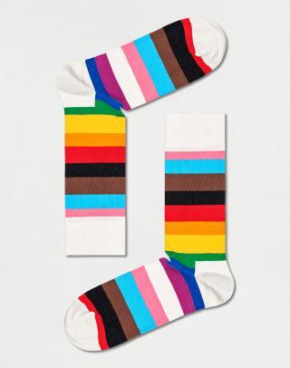 Happy Socks Pride Stripe Sock PRS01-0200 36-40 Pruhy 36-40