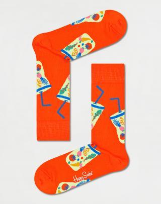Happy Socks Smoothie Sock SMO01-4300 36-40 Oranžová 36-40