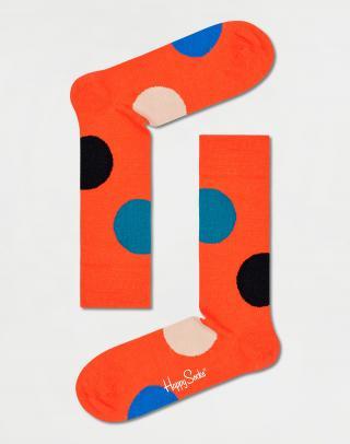 Happy Socks Wool Jumbo Dot Sock WJUB22-2900 36-40 Oranžová 36-40