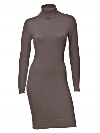 heine Pletené šaty  hnedá dámské 46
