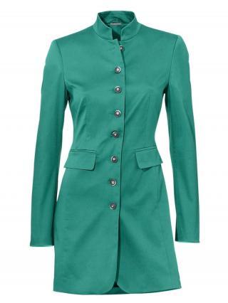 heine Prechodná bunda  smaragdová dámské XS
