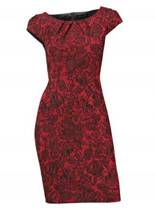 heine Puzdrové šaty  červená / rubínová dámské 46