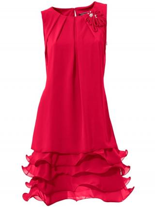 heine Šaty  červená dámské 46