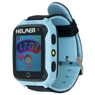Helmer Chytré dotykové hodinky s GPS lokátorem a fotoaparátem - LK 707 modré - SLEVA modrá